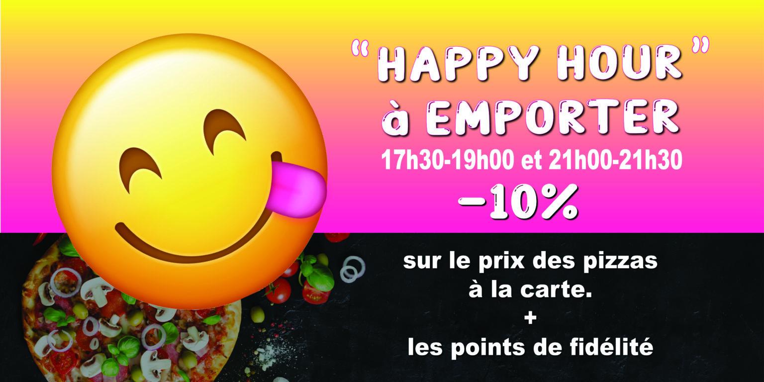 Happy hour la pat'zza